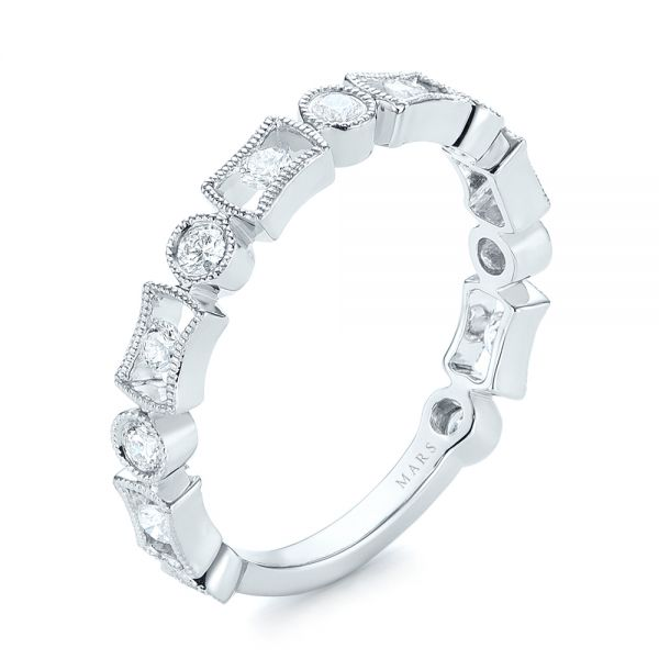 Stackable Women's Wedding Band - Image