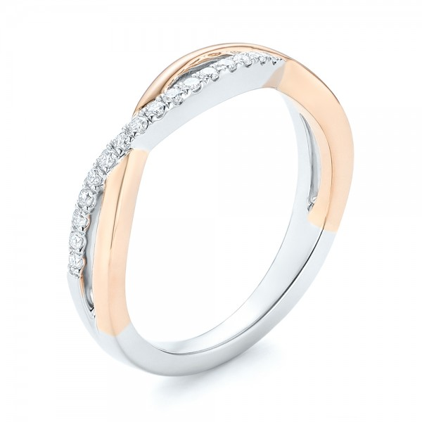 Two-tone Wedding Band