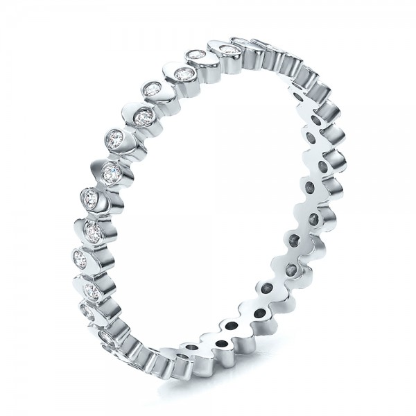 Women's Contemporary Diamond Eternity Band