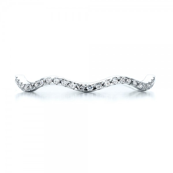 Women's Diamond Eternity Band - Top View
