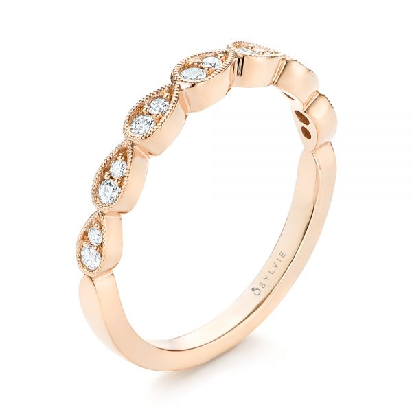 Women's Diamond Wedding Band - Image