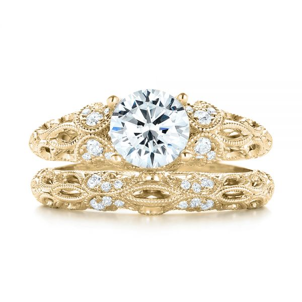 14k Yellow Gold 14k Yellow Gold Women's Diamond Wedding Band -  103111