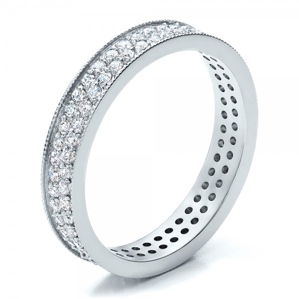 Women's Pave Diamond Eternity Band