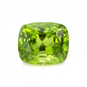 Green Cushion Peridot