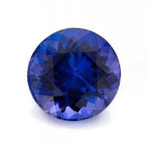 Blue Round Tanzanite
