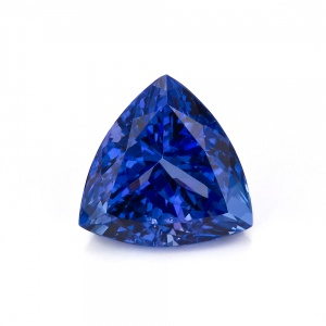Blue Trillion Tanzanite