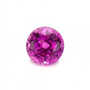 Pink Round Sapphire