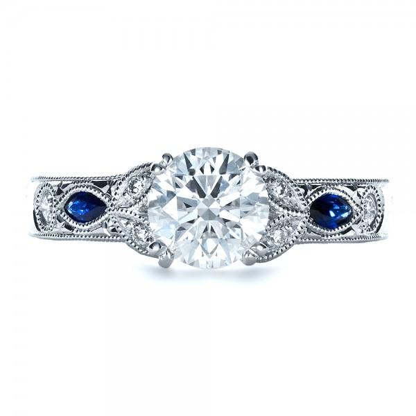 Blue Sapphire Wedding Ring inspirational – navokal.com