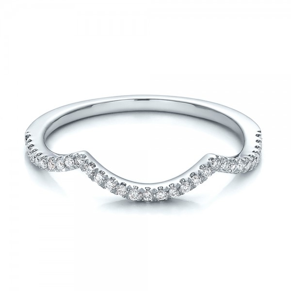 Curved Wedding Bands: Wedding Bands: Curved Wedding Bands