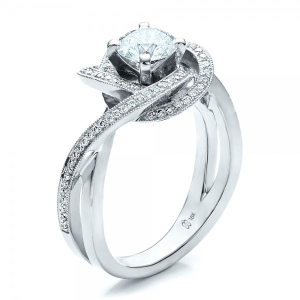 custom engagement ring 1476 bellevue seattle