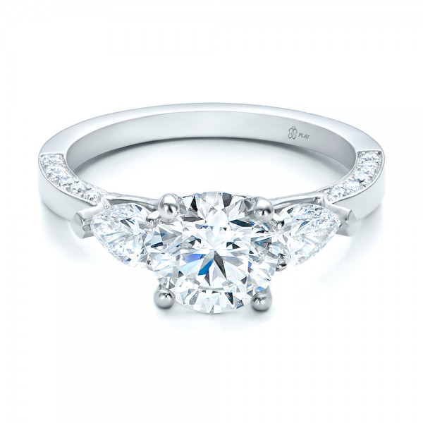 Custom Diamond Engagement Ring Bellevue Seattle Joseph Jewelry