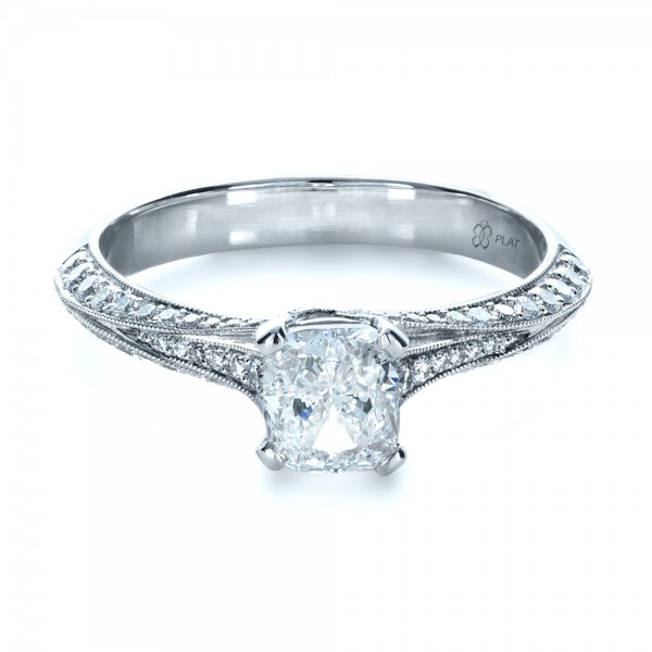 Custom Diamond Engagement Ring 1268 Bellevue Seattle Joseph Jewelry
