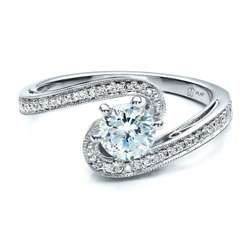 Custom Diamond Engagement Ring Engagement Rings