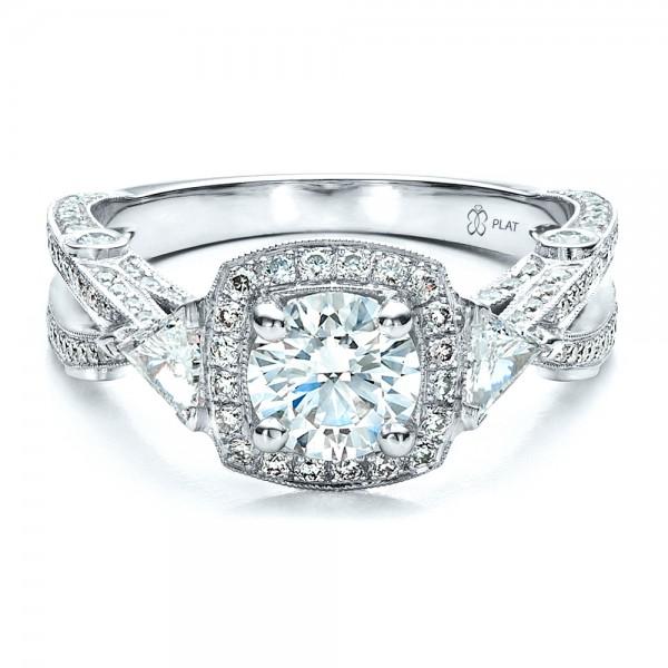 Personalized Wedding Rings Custom Diamond Engagement Ring 1451 Bellevue Seattle Joseph Jewelry