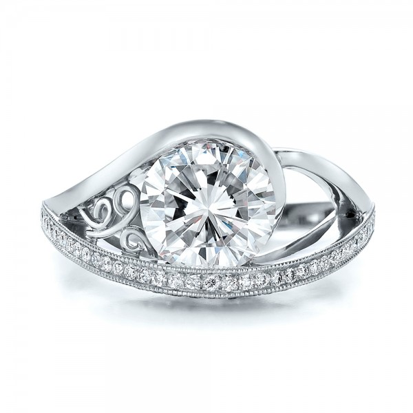 Joseph Jewelry › Engagement Rings › Custom Diamond Engagement Ring
