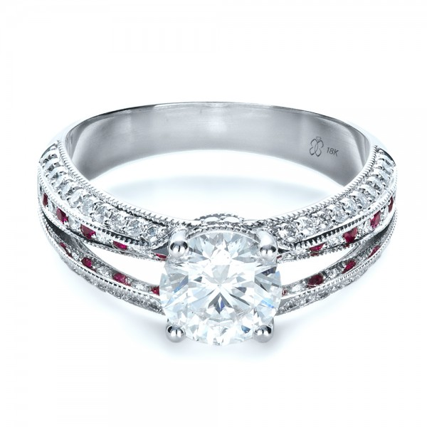 Ruby Diamond Engagement Ring Meaning Diamond Engagement Rings And