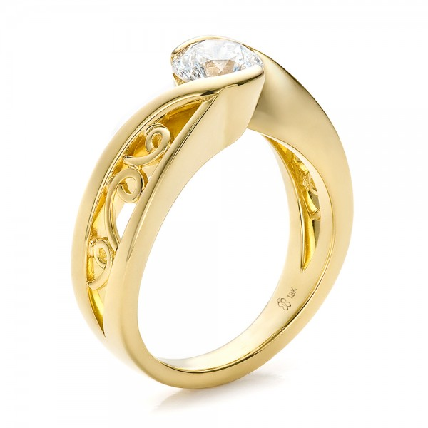 yellow gold engagement rings yellow gold engagement rings