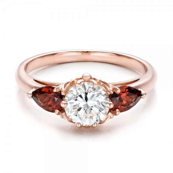 Garnet and diamond ring bing images for Garnet wedding ring meaning