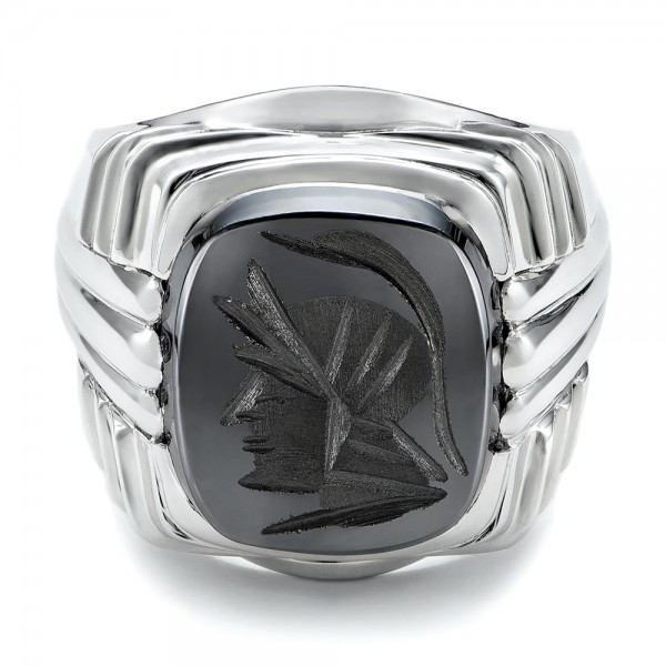 Custom Men S Signet Ring 101267 Bellevue Seattle Joseph