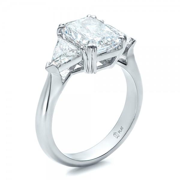 custom three engagement ring 100803