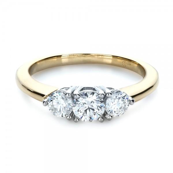 custom three engagement ring bellevue