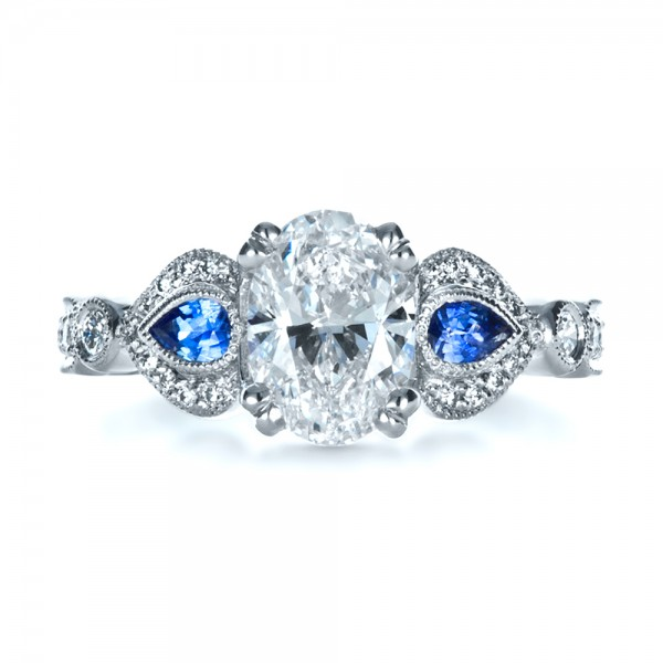 custom three engagement ring 1399 bellevue seattle