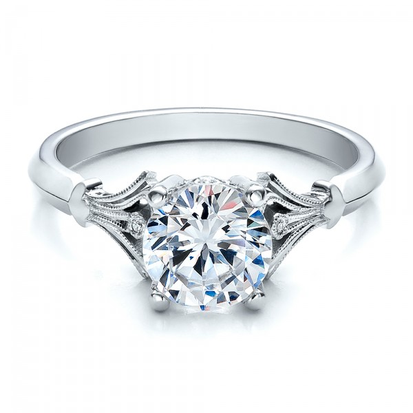 Diamond Engagement Ring Bellevue Seattle Joseph Jewelry