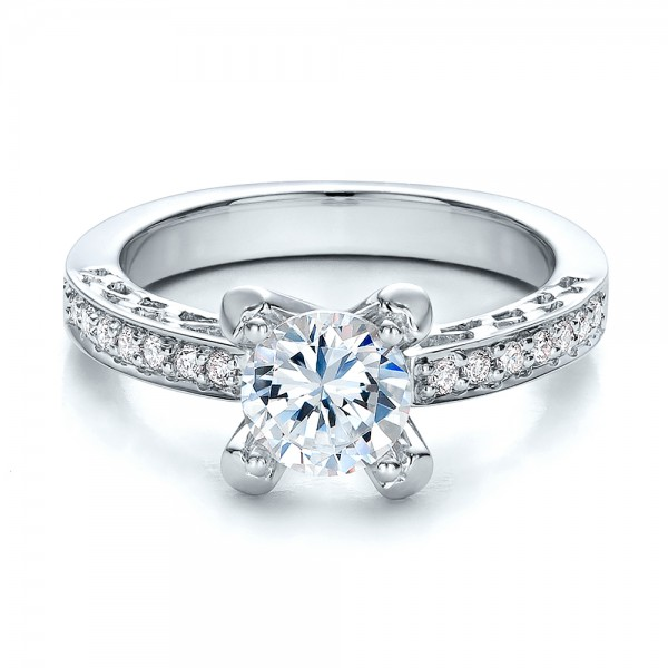 and filigree engagement ring vanna k 100284