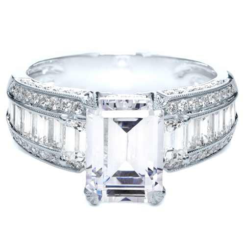 emerald cut engagement ring 192 bellevue seattle