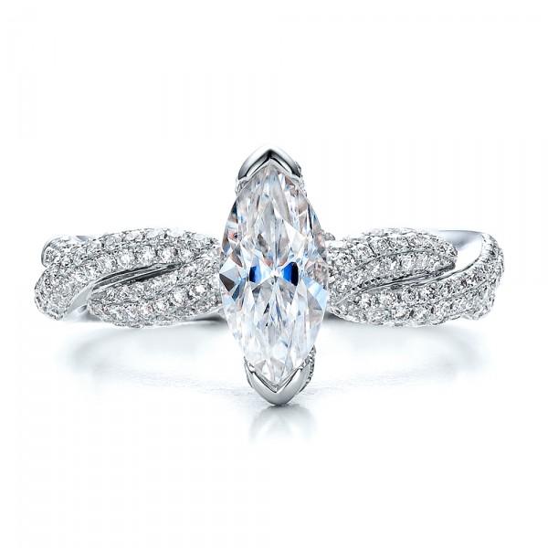 marquise engagement ring vanna k 100063 bellevue