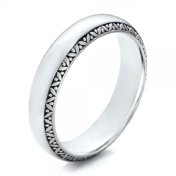 Mens Engraved Wedding Band 101048 Bellevue Seattle Joseph Jewelry