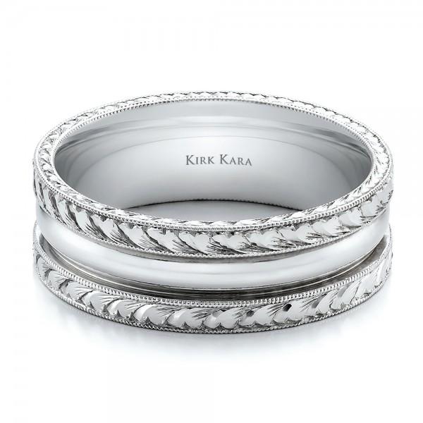 engraved s wedding band kirk kara 100669