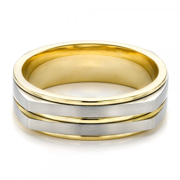 s two tone wedding band 100153 bellevue seattle