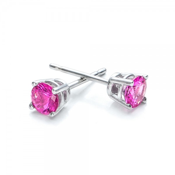 pink tourmaline stud earrings 100946 bellevue seattle
