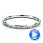 Women's Channel Set Diamond Eternity Band - Interactive Video - 100140 - Thumbnail