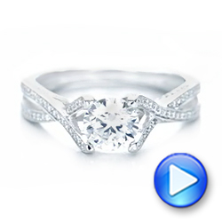 Diamond Engagement Ring - Interactive Video - 100365 - Thumbnail