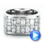 Custom Women's Channel Set Diamond Anniversary Band - Interactive Video - 100481 - Thumbnail