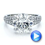 Custom Diamond Engagement Ring - Interactive Video - 100872 - Thumbnail