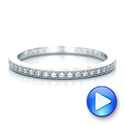 Diamond Stackable Eternity Band - Interactive Video - 101895 - Thumbnail