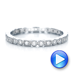 Diamond Stackable Eternity Band - Interactive Video - 101925 - Thumbnail