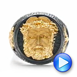 Jesus Ring - Capitan Collection - Video -  101972 - Thumbnail