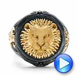 Lion Ring - Capitan Collection - Video -  101973 - Thumbnail