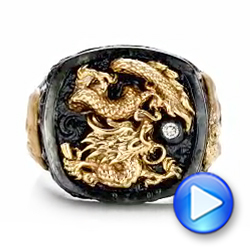 The Rising Dragon Ring - Capitan Collection - Video -  101974 - Thumbnail