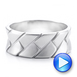 Custom Brushed and Woven Men's Band - Interactive Video - 102015 - Thumbnail