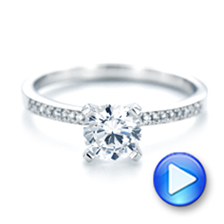 Diamond Engagement Ring - Interactive Video - 102585 - Thumbnail