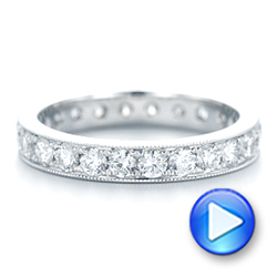 Diamond Eternity Wedding Band - Interactive Video - 102823 - Thumbnail
