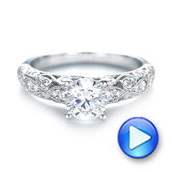 Diamond Engagement Ring - Interactive Video - 103063 - Thumbnail