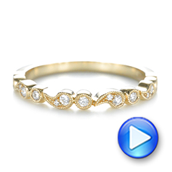 Women's Diamond Wedding Band - Interactive Video - 103074 - Thumbnail