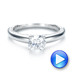 Diamond Engagement Ring - Interactive Video - 103087 - Thumbnail
