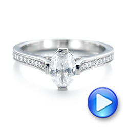 Diamond Engagement Ring - Interactive Video - 103266 - Thumbnail